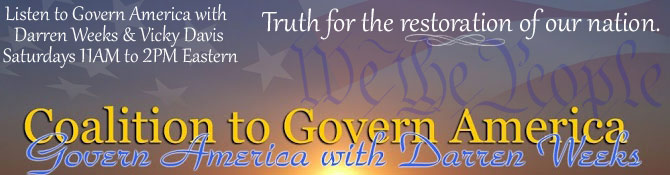 Header - Coalition to Govern America - Govern America with Darren Weeks and Vicky Davis