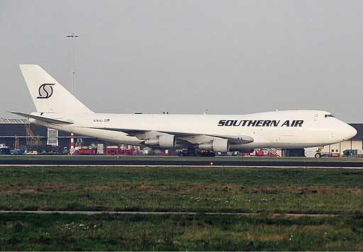 Southern-Air-Transport-Boeing-747 Spijkers