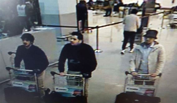 Brussels suspects CCTV