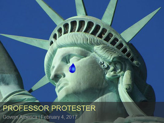 professor-protester