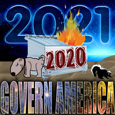Many have described 2020 as a dumpster fire. Will the new year be any better?