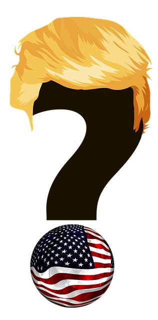 Trump question mark